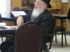 Rav Meir Tzvi Bergman giving a shiur in the Beachwood Kollel #2